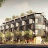 Five-story apartment project with automated parking on the way to Sawtelle